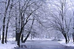 Winter-Landschaft Lizenzfreie Stockbilder