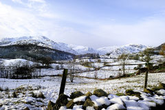 Winter in the Langdales Royalty Free Stock Photo