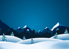 Winter Lanscape Stock Images