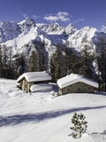 Winter lanscape Stock Photos