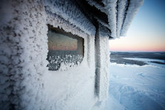 Winter in Lapland Finland Stock Photography