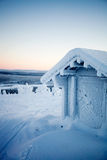 Winter in Lapland Finland Royalty Free Stock Images
