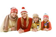 Winter leisure Royalty Free Stock Photography