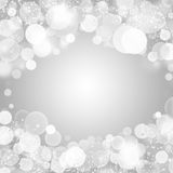 Winter Light bokeh Royalty Free Stock Photography