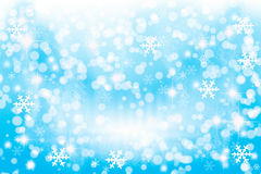 Winter lights background Royalty Free Stock Images