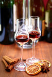 Winter liquer Stock Photo