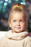 Winter little girl. Smiling  child. Cute kid. Stock Photo