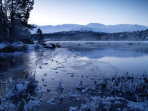 Winter Loch Stock Images