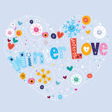 Winter Love Royalty Free Stock Images