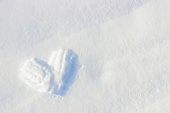 Winter Love Stock Image