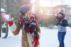 Winter love Royalty Free Stock Photo