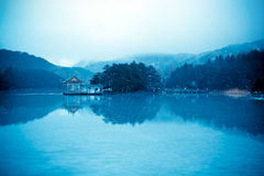 Winter lushan mountain Stock Photos