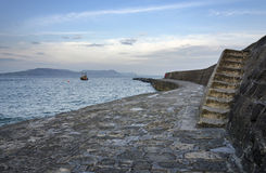 Winter in Lyme Regis Royalty Free Stock Photography