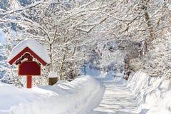 Winter-Märchenland Stockfoto