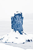 Winter-Märchenland-Szene Lizenzfreies Stockfoto