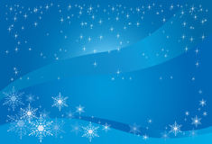 Winter Magic Background Stock Images