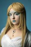 Winter make-up Stock Photos