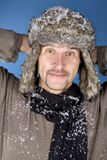 Winter man Royalty Free Stock Photo