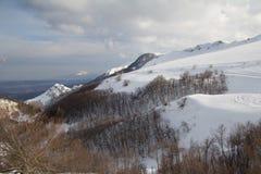 Winter Marken Apennines lizenzfreie stockbilder