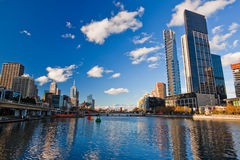 Winter in Melbourne lizenzfreies stockfoto