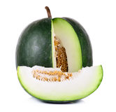 Winter melon isolated on white background Stock Photo