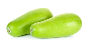 Winter melon isolated on the white background Royalty Free Stock Photography