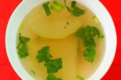Winter melon soup Stock Images