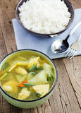 Winter Melon Soup with Chicken asia food Royalty Free Stock Image