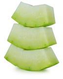 Winter melon on white background Royalty Free Stock Photos