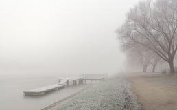 Winter mist Royalty Free Stock Photos