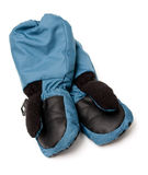 Winter mittens Royalty Free Stock Photos