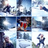 Winter mix Stock Image