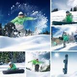 Winter mix Stock Photo