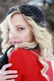 Winter-Mode Stockfoto