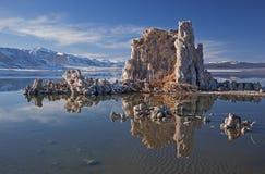 Winter, Mono Lake Royalty Free Stock Photos