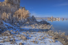 Winter, Mono Lake Stock Photography