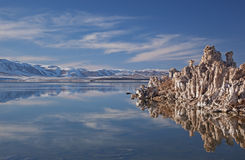 Winter, Mono Lake Royalty Free Stock Photography