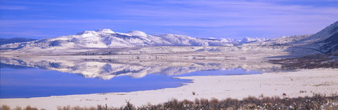 Winter at Mono Lake, California Stock Photography
