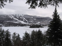 winter at Mont-Tremblant, Québec Royalty Free Stock Image