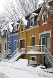 Winter in Montreal Royalty Free Stock Photo