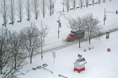 Winter in Montreal Royalty Free Stock Images