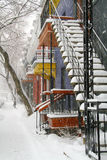 Winter in Montreal Royalty Free Stock Photos