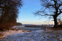 Winter mood at the countryside Royalty Free Stock Image