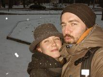 Winter mood stock photo