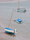 Winter moorings Royalty Free Stock Images