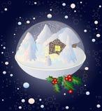Winter-Moosbeere Stockfoto