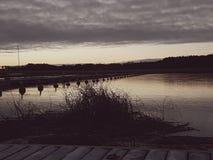Winter-Morgen Lizenzfreies Stockbild