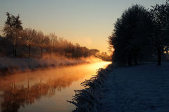 Winter Morning 1 Stock Images