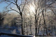 Winter Morning Royalty Free Stock Photos