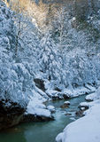 Winter morning in Guam gorge Stock Photo